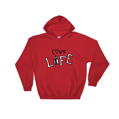 Love Life Red Hoodie - The Real1