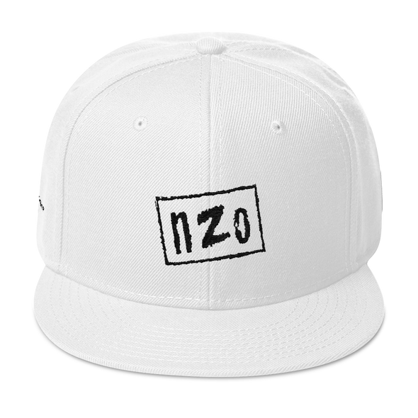 nZo - OG White Snapback - The Real1