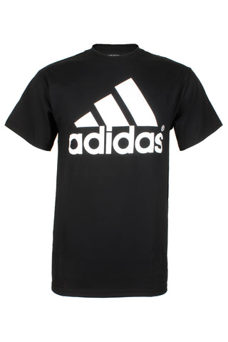 Adidas Men's Active Wear Short Sleeve Essential Logo Graphic Crew Neck T-Shirt