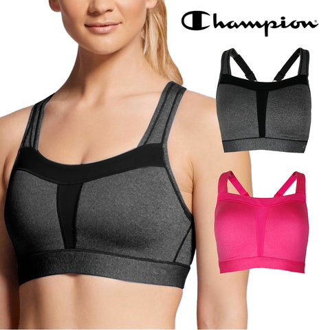 Champion Women's N9587 Duo Dry High Support Active Wear Sports Bra Bralette