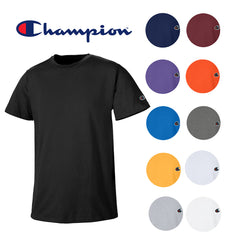 Champion Men's Athletic Wear T425 Short Sleeve Tag Free Workout Gym T Shirt