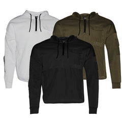 Mens Zip-Up Hoodie Jacket Front Pocket Casual Zipper Sweater HK99988