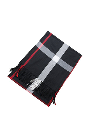 DBFL1 Women's Large Soft Fringed Ends Scarf 4 Colors