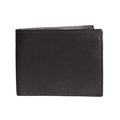 DBFL1 Men's Genuine Leather Bi-Fold Multi-Window Wallet