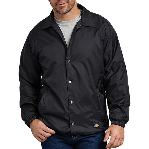 Dickies Men's 76242 Snap Front Windbreaker Water Resistant Jacket