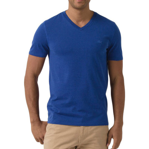 Lacoste Men's Vintage Sport Short Sleeve V-Neck Cotton T-Shirt