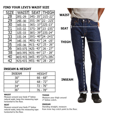 Levis Men's 514 Denim Regular Fit Straight Leg Jeans