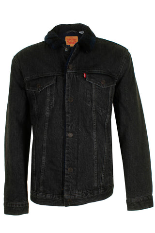 Levi's Men's Denim Sherpa Lined Trucker Jean Jacket