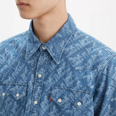 0104 Printed Denim
