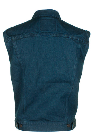 Levi's Men's Regular Fit Button Up Cut Off Trucker Vest