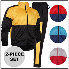 Men's 2-Piece Jacket and Pants Jogger Set Original Deluxe
