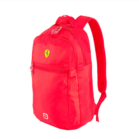 Puma Scuderia Ferrari Fanwear Backpack Laptop Sleeve Sports Car Zipper 4x12x18