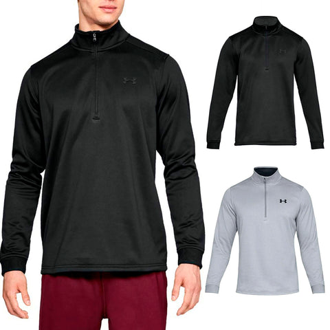 Under Armour Men's Armour Fleece 1/2 Zip Ribbed Cuff Long Sleeve Shirt 1320745