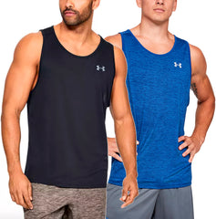 Under Armour Men's UA Tech Tank 2.0 Tank Top Gym Performance Shirt 1328704