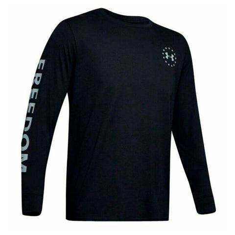 Under Armour Men's Athletic UA Freedom New Flag T-Shirt Long Sleeve 1343565