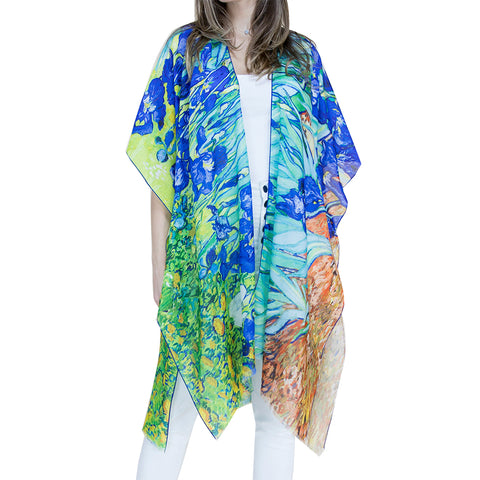 Women's Kimono Bathing Suit Beach Cover Up Summer Swimsuit Wrap Shawl Cardigan