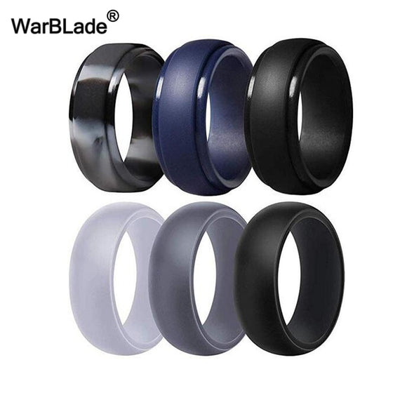 Warblade Silicone Rings - Smooth/Edge Bead 3Pk