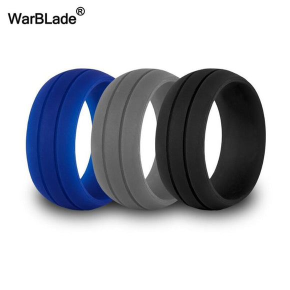 Warblade Silicone Rings - Grooved & Blocked 3 Pk