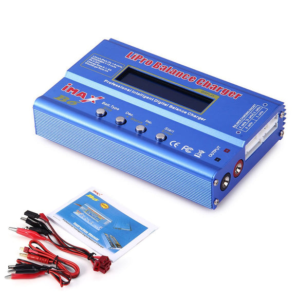 Brand New IMAX B6 Lipo NiMh Li-ion Ni-Cd Balance RC Charger/Discharger For RC Helicopter Re-peak for Aircraft