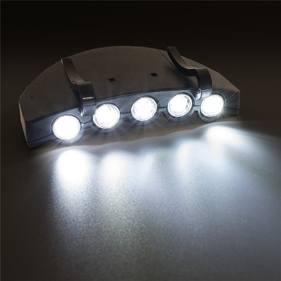 5 LED Cap/Hat Light Clip