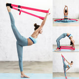 Flexibility Stretching Leg Strap Yoga Strap For Ballet Cheer Dance Gymnastics Trainer Yoga Belt Accessories Joga Akcesoria