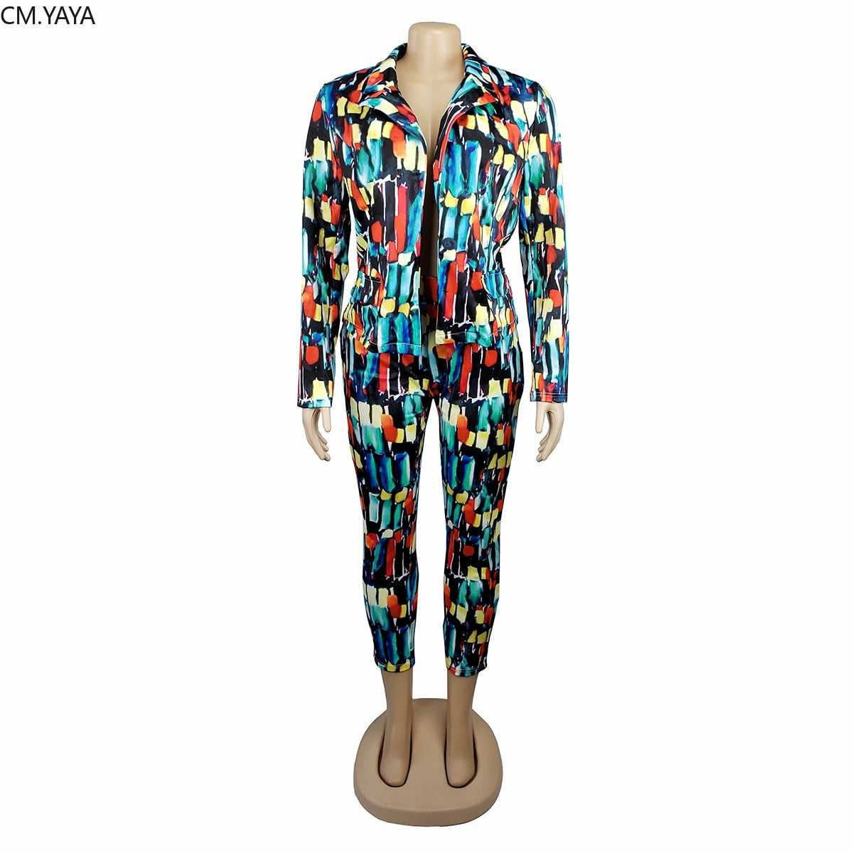 Full Sleeve Mesh Patchwork Blazers Pants Suit
