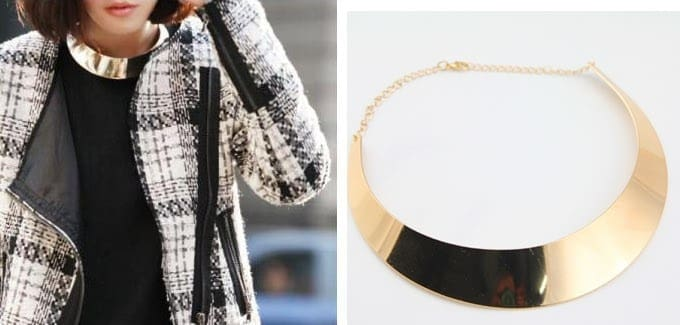 Chunky Punk Collar Chokers Necklace