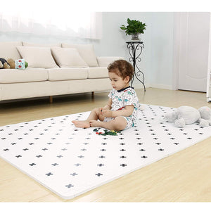 Baby Play Mat White - Large (4FT x 6FT)