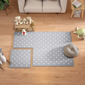 Baby Play Mat - Extra Large (4FT x 6FT) - Cross Pattern