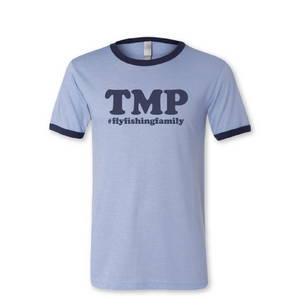 TMP Fly Fishing Family Ringer Short Sleeve