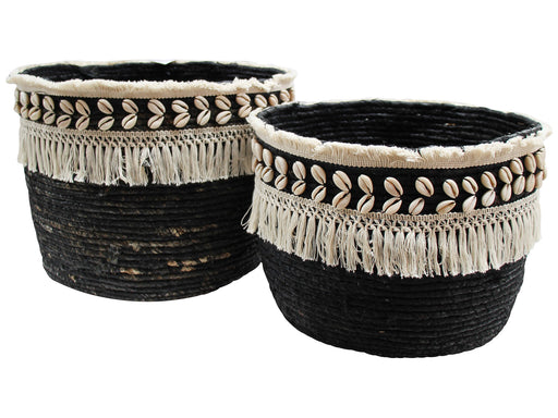 Seagrass Baskets Black
