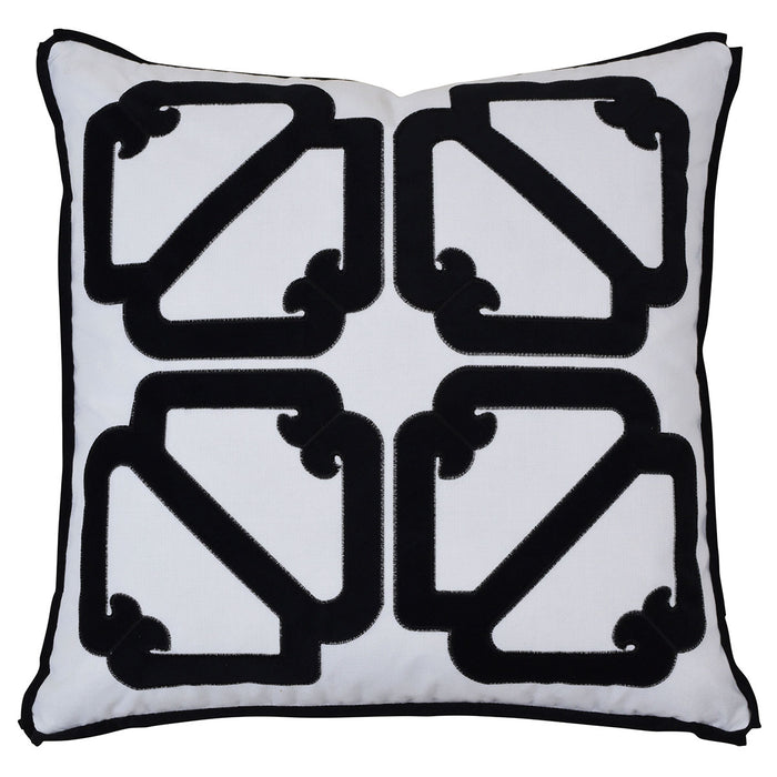 Manly Black Cushion Cover