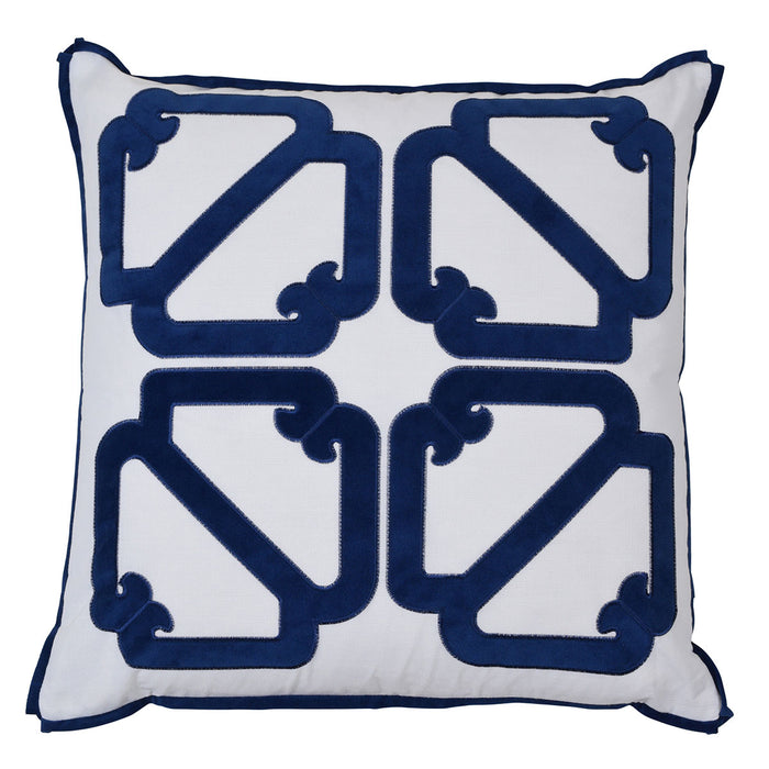 Manly Navy Cushion Cover