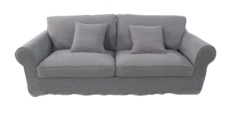 Nantucket Linen Sofa Grey