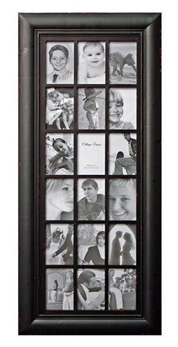 Photo Frame Tower Black