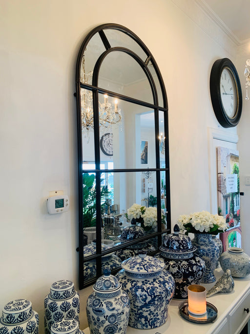 Black Iron Arch Mirror