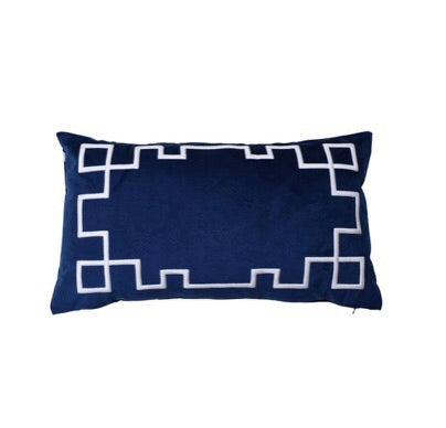 Palm Springs Navy Cushion Cover