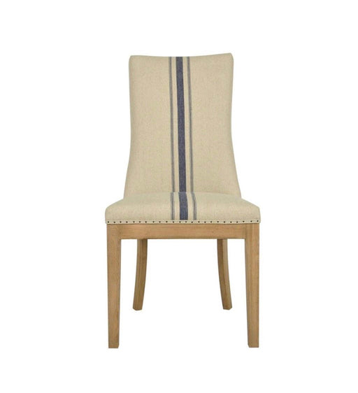 DINING CHAIR BLUE STRIPE