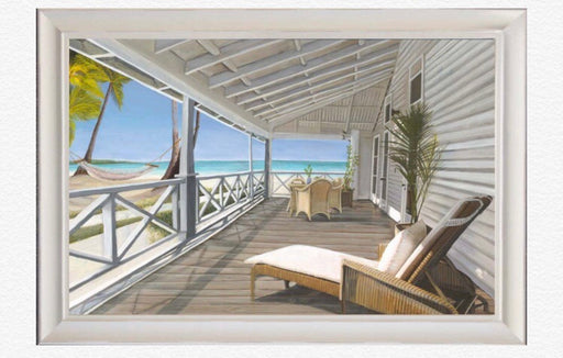 Hamptons Beach Vista Print