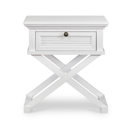 Palm Beach Cross Leg Bedside Table
