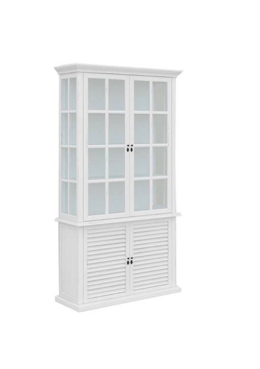Palm Beach 2 Door Glass Cabinet