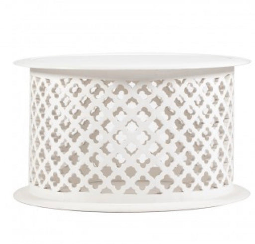 Hamptons Quatrefoil Coffee Table
