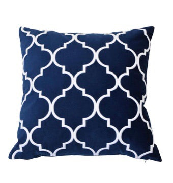 Malibu Navy Cushion Cover