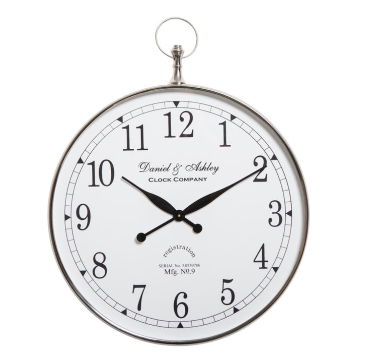 Daniel & Ashley Wall Clock 60cm
