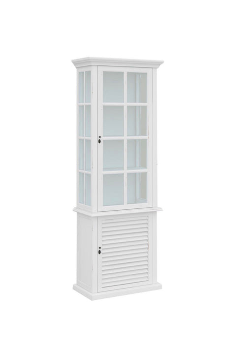 Palm Beach 1 Door Glass Cabinet
