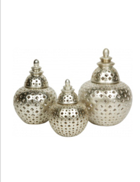 Miccah Champagne Temple Jars
