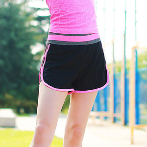 New High Elastic Runs Women's Shorts- Quick Dry