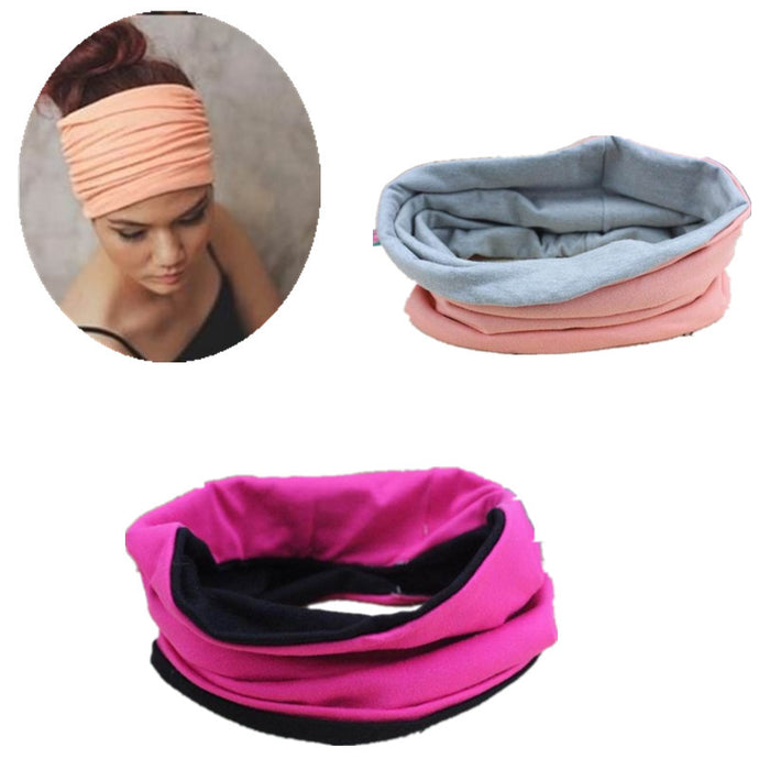 Sweat Candy Absorbing Sports Cotton Headwear Yoga Headband