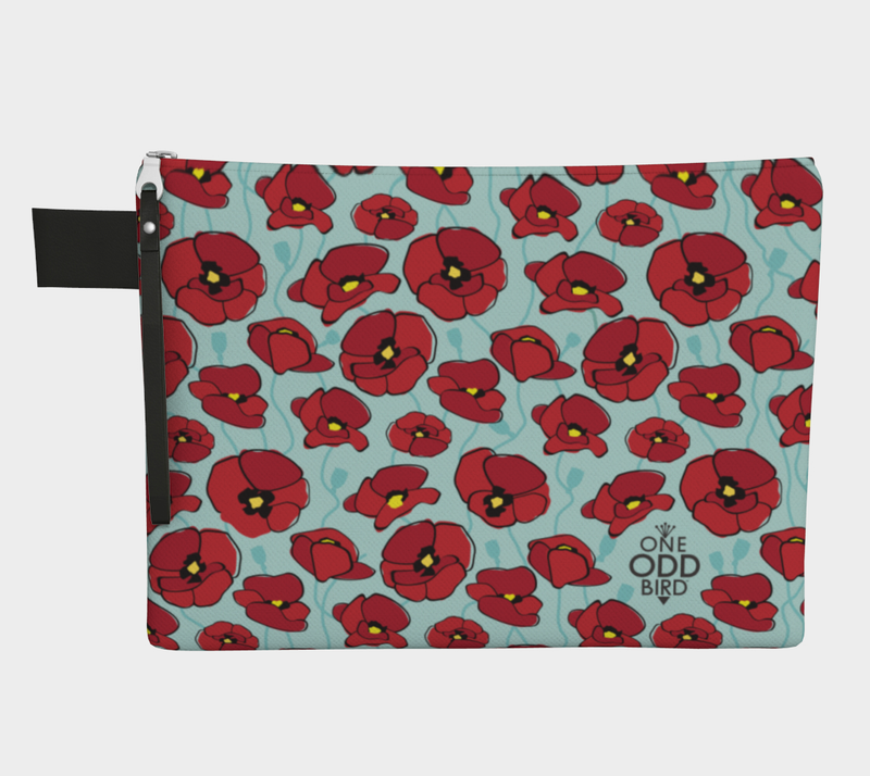 Poppy Zip Bag
