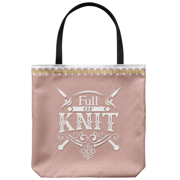Full of Knit Totebag - Available in 4 colors